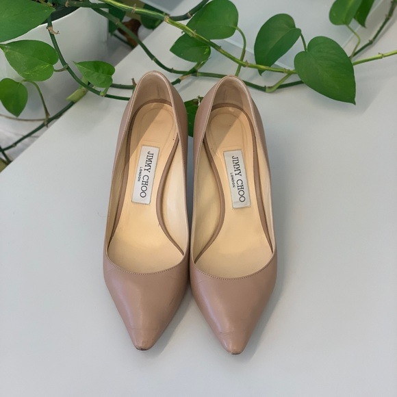 463e0526a8 Jimmy Choo Shoes | Romy 60 Pump In Ballet Pink | Poshmark